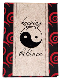 KEEPING BALANCE JOURNAL 5.5x7.5