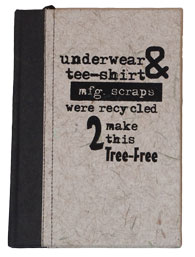 UNDERWEAR & TEE-SHIRT JOURNAL 5.5x7.5