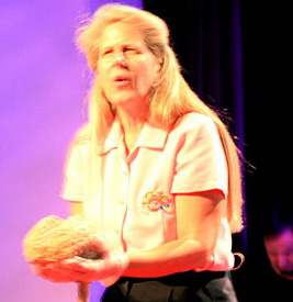 Neuroanatomist Jill Bolte Taylor TED talk on her stroke and aspects of brain function