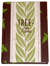TREE-FREE JOURNAL  brown 5.5x7.5